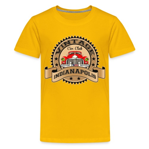 Vintage classic car - Teenage Premium T-Shirt