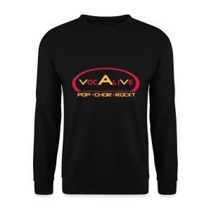 Herren Sweatshirt Schwarz - Männer Pullover