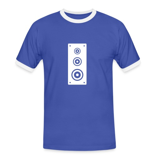 Speaker, Blue - Men's Ringer Shirt