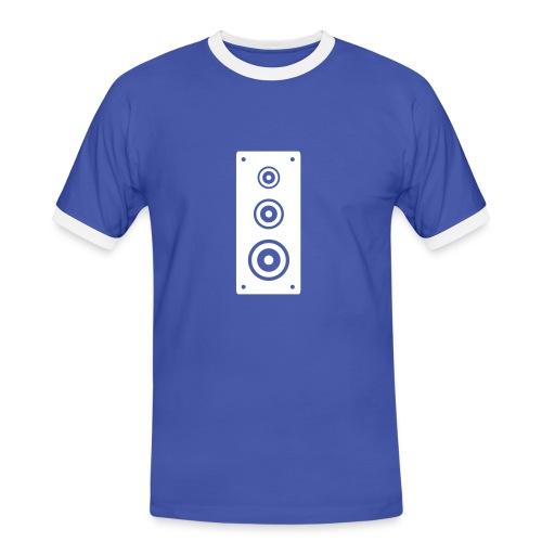 Speaker, Blue - Men's Ringer Shirt
