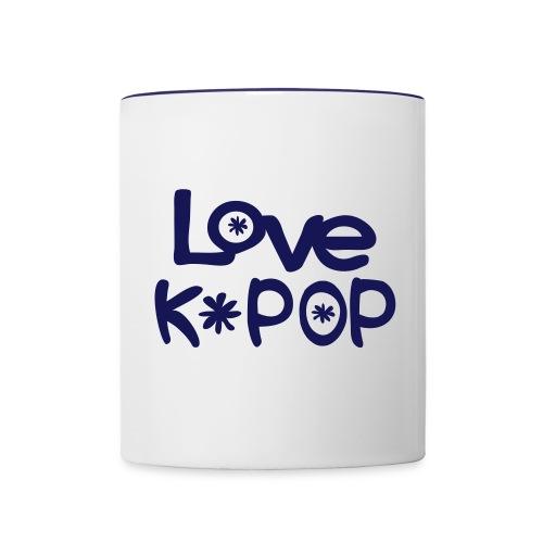 taza love K-POP - Taza en dos colores