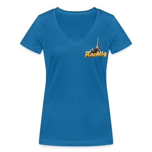 Rachtig HERZ (Girl) - Frauen Bio-T-Shirt mit V-Ausschnitt von Stanley & Stella