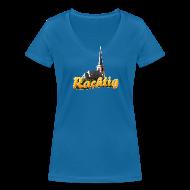T-Shirts ~ Frauen T-Shirt mit V-Ausschnitt ~ Rachtig klassisch (Girl)
