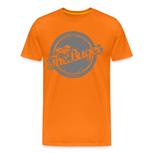 TheBuger Dont be a pussy - Koszulka męska Premium