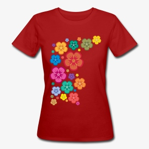 flower sweetness women's wear - Vrouwen Bio-T-shirt