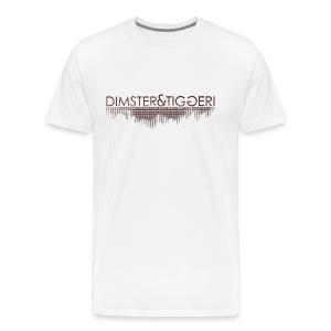 OFFICIAL D&T TEE - Mannen Premium T-shirt