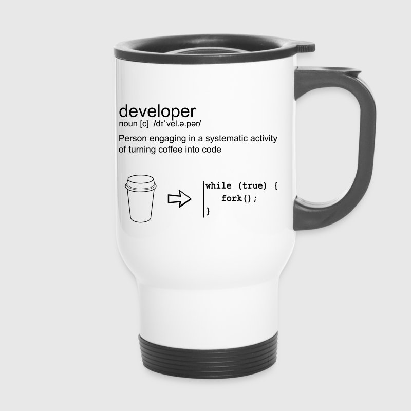 Developer  - Mug thermos
