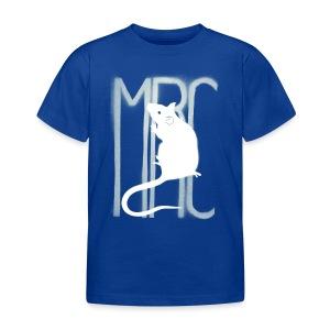 Children's t-shirt with white MRC rat  - Kids' T-Shirt