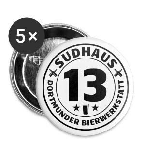 Button-Set für Sudhaus-13-Freunde - Buttons klein 25 mm