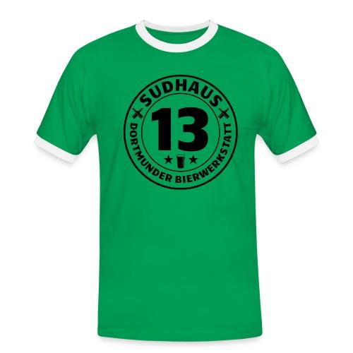 Kontrast-Shirt für Sudhaus-13-Freunde - Männer Kontrast-T-Shirt