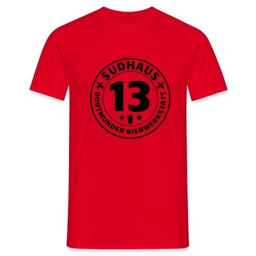 Simples Shirt für Sudhaus-13-Freunde - Männer T-Shirt