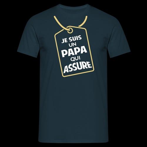 Un Papa qui assure (2c) - T-shirt Homme