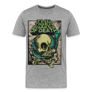 Snakeskull - Männer Premium T-Shirt