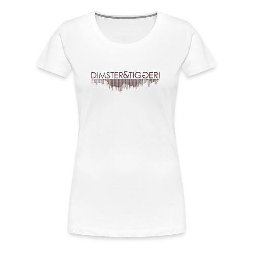 OFFICIAL D&T  Tee Women  - Vrouwen Premium T-shirt
