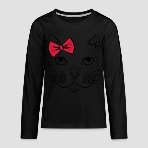 Süße Katze CUTE EDITION - Teenager Premium Langarmshirt