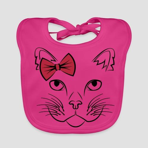 Süße Katze CUTE EDITION - Baby Bio-Lätzchen