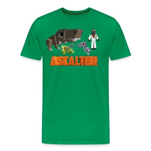 Ascalter Dinosaurs - Männer Premium T-Shirt