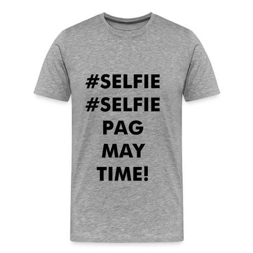 Mens #Selfie Tee - Men's Premium T-Shirt