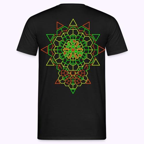 Cosmic Crystal 2-side: Men Classic Shirt - Men's T-Shirt