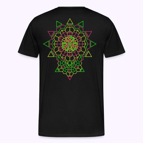 Cosmic Crystal 2-side Men Premium S-5XL - Men's Premium T-Shirt