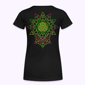 Cosmic Crystal 2-side print Premium Shirt - Maglietta Premium da donna
