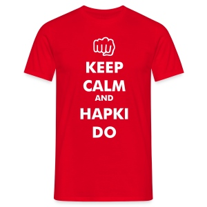 Keep Calm HAPKIDO Shirt - Männer T-Shirt