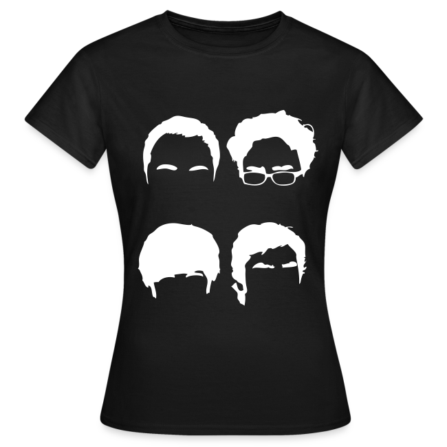 Silhouette Faces (dames basic) inverted