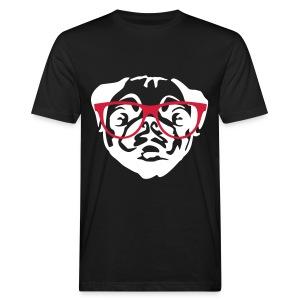 Dog glasses_Men - Mannen Bio-T-shirt