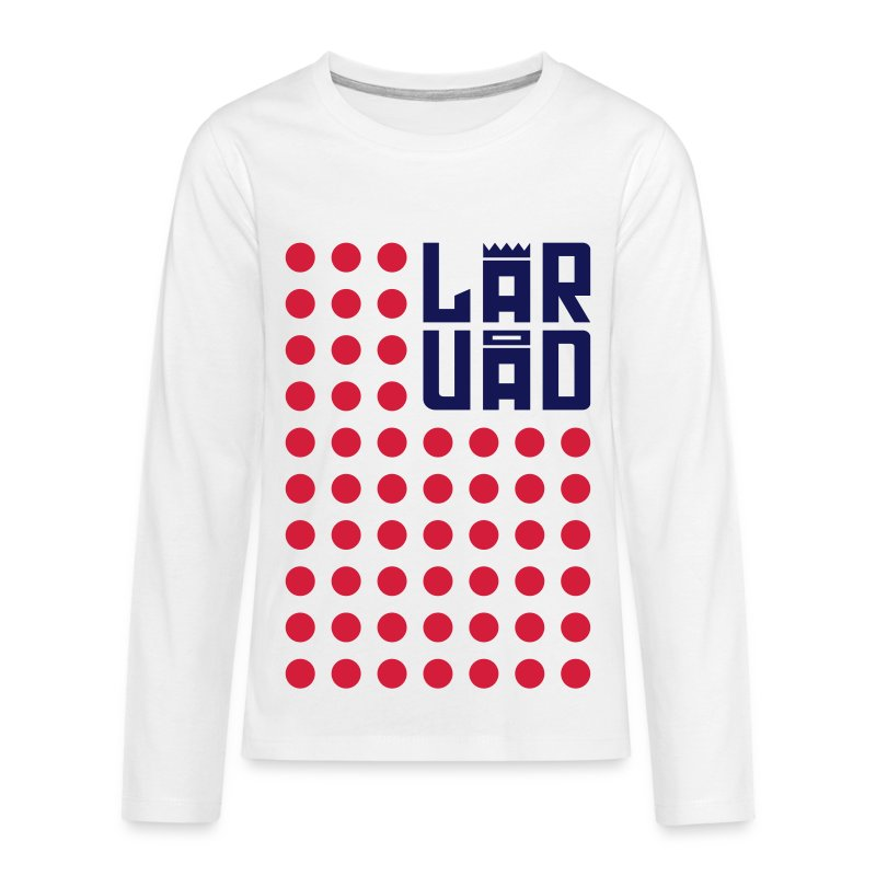 8 - Teenagers' Premium Longsleeve Shirt