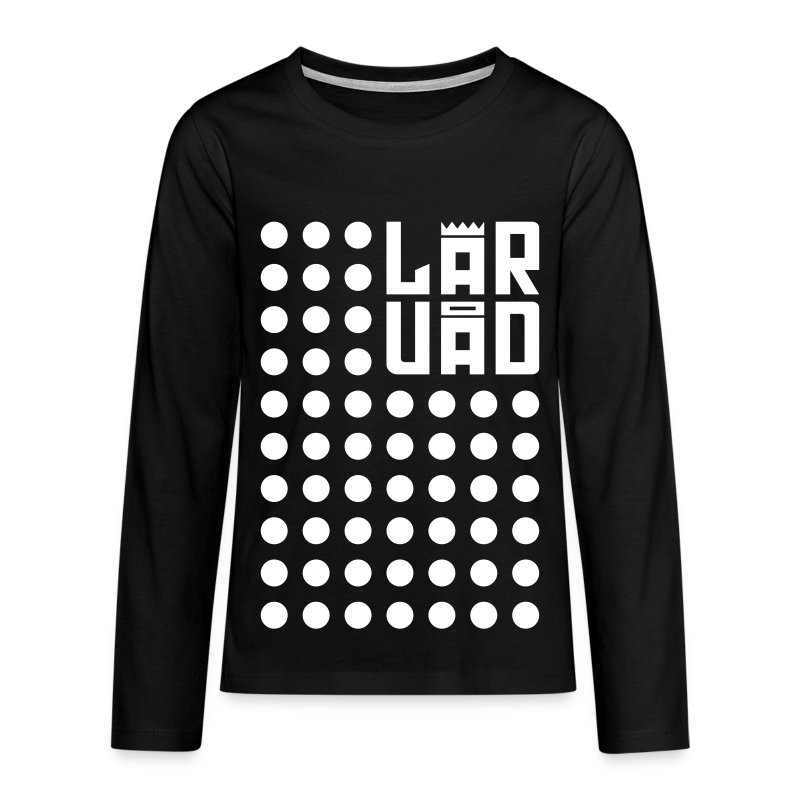8 - Teenagers' Premium Longsleeve Shirt