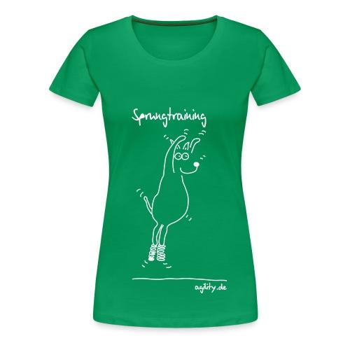 Agility - Sprungtraining - Frauen Premium T-Shirt