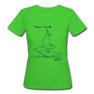 T-Shirts ~ Frauen Bio-T-Shirt ~ Agility - Two On Two Off