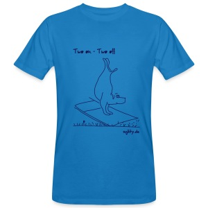 Agility - Two On Two Off - Männer Bio-T-Shirt