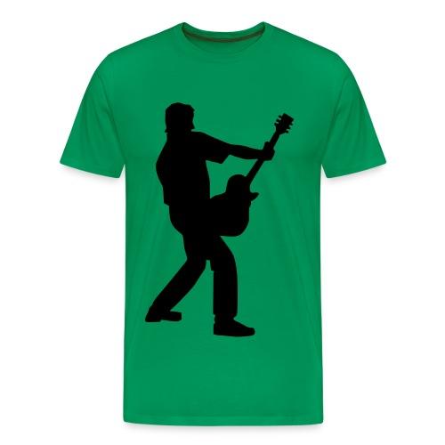 Heren Shirt Gitaar - Mannen Premium T-shirt