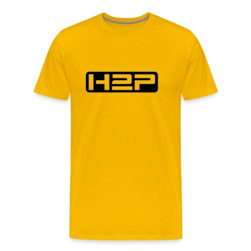 T-shirt MC homme H2P New Age (Logo noir) - T-shirt Premium Homme