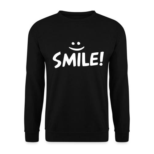 Heren Sweater Smile :) - Mannen sweater