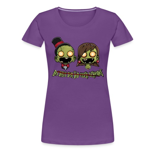 Zombie Wedding - Bis dass der Tod euch scheidet - Frauen Premium T-Shirt