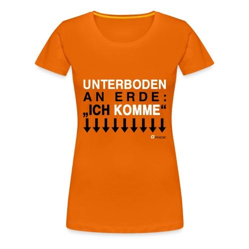 G-Ride Saisonshirt 2014 Girlie - Frauen Premium T-Shirt
