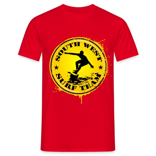 south west surf  team - Men's T-Shirt