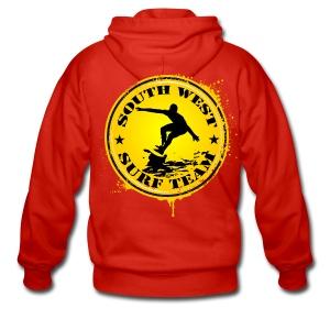 south west surf  team - Men's Premium Hooded Jacket