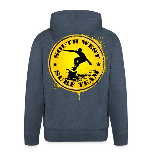 south west surf  team - Men's Premium Hooded Jacket