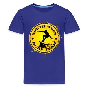 south west surf  team - Teenage Premium T-Shirt