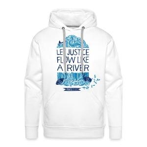 Let Justice Flow 2 Hoody  - Men's Premium Hoodie
