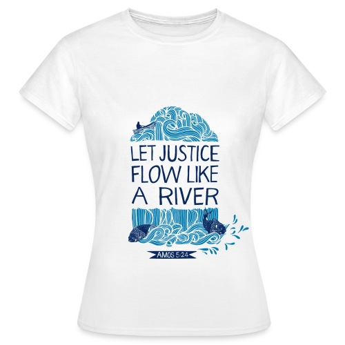 Let Justice Flow 2 T-shirt - Women's T-Shirt