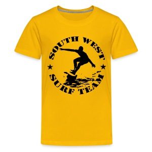 south west surf  team 02 - Teenage Premium T-Shirt