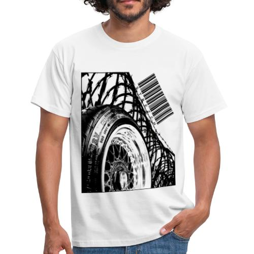 Stretched Tire - Men's T-Shirt