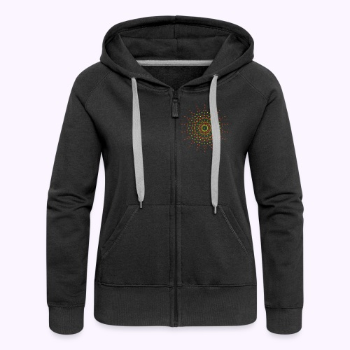 9th Dimension Stargate 2side - Women's Hooded Jacket - Women's Premium Hooded Jacket
