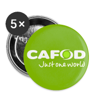 Buttons ~ Buttons medium 32 mm ~ Green CAFOD button badge