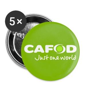 Green CAFOD button badge - Buttons medium 32 mm