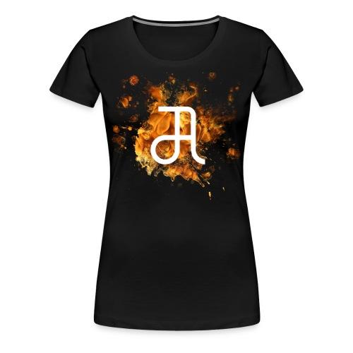 Glyphe Inferno ♀ - Frauen Premium T-Shirt